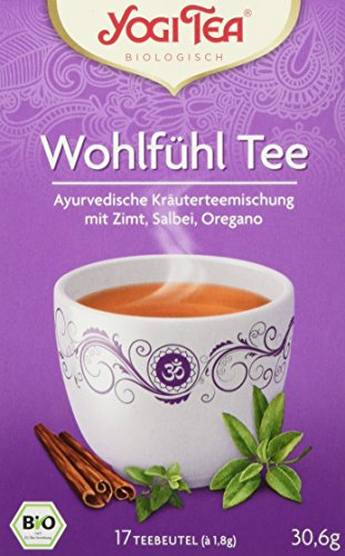 Yogi Tea Wohlfühl Tee Bio, 3er Pack (3 x 30,6 g)