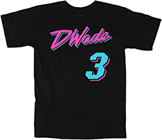 The Tune Guys Black Miami Wade Vice City T-Shirt