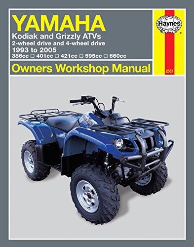 Haynes 2567 Yamaha Kodiak ATV Manual