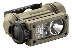Streamlight 14512 Sidewinder Compact II Military Model Angle Head Flashlight, Headstrap and Helmet Mount Kit