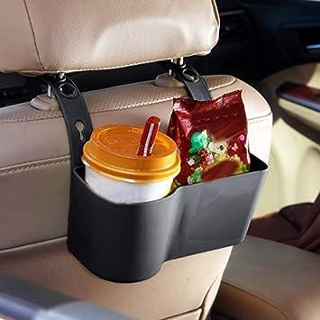 Demarkt Auto Rücksitz Organizer Getränke Ständer Getränkehalter Kfz Becherhalter Flaschenhalter Grün Küche Haushalt