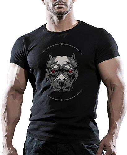 MMA Kampfsport Bodybuilding T-Shirt Best Workout Kleidung Training Mann Gr. XL, Schwarz
