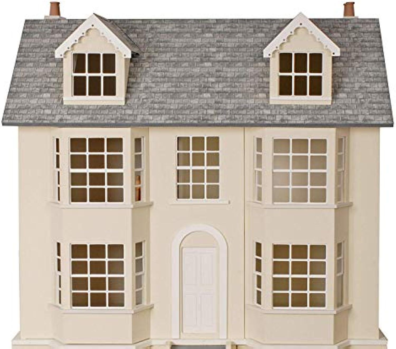 Melody Jane Regency Town House 1 12 Mastab Puppenhaus Set Unlackiert Flache Packung MDF Holz