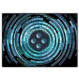 QQDD Schlagzeug Teppich Drum Teppich rutschfeste Drum Rug Trommel Teppich Schallschutzmatte Quadratische Schallschutzdecke für Bass Drum Snare Elektronische Antivibrationsmatten Schallschutz Teppich
