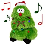 Simply Genius Singing Dancing Christmas Tree: Animated Christmas Tree, Animated Christmas Plush, Animated Christmas Toys, Animated Christmas Decorations