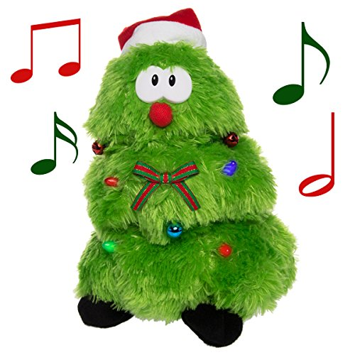 Simply Genius Singing Dancing Christmas Tree: Animated Christmas Tree, Animated Christmas Plush, Animated Christmas Toys, Animated Christmas Decorations