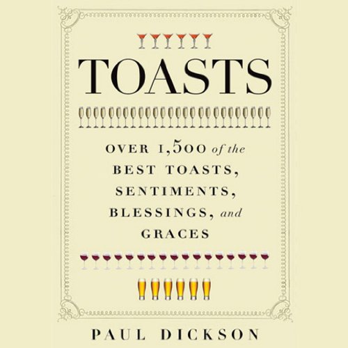 Toasts audiobook cover art