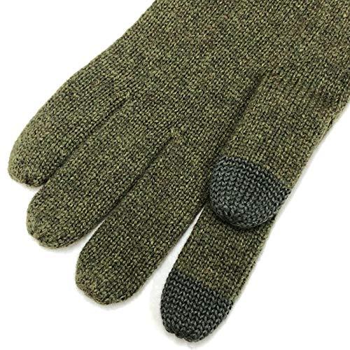 POLORALPHLAURENポロラルフローレン手袋グローブスマホ対応メンズ男性オリーブ(308)