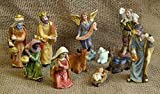 Krippenfigurenset, 11-tlg. Set, für 9cm Figuren