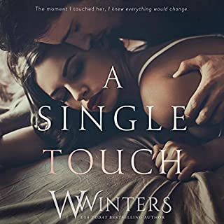 A Single Touch audiobook cover art