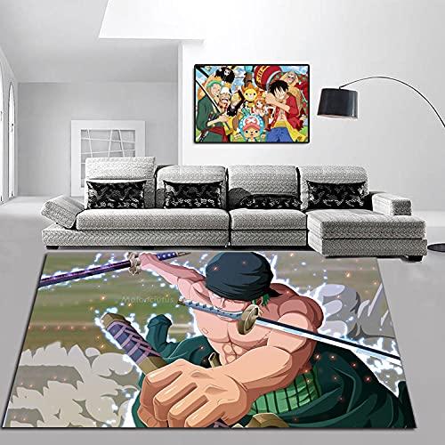 Alfombra de Puerta de una Pieza, Alfombrilla Antideslizante para decoración de Interiores de Lujo, Lavable a máquina.-A_50X80CM