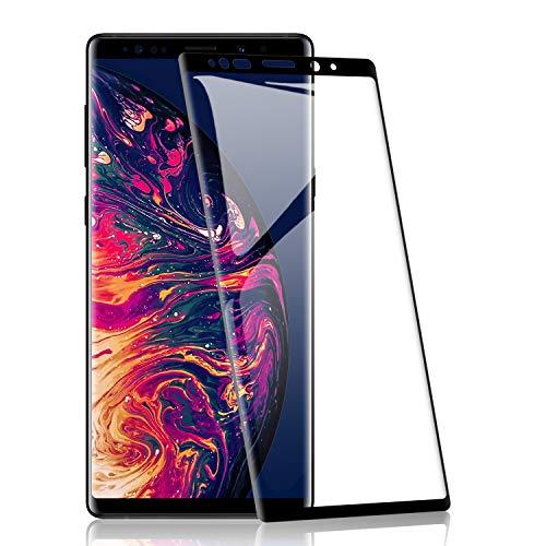 RIIMUHIR Protezioni per Lo Schermo per Samsung Galaxy Note 9[2 Pezzi], Pellicola Vetro Temperato 9H Durezza, Protettiva in Vetro Temperato per Samsung Galaxy Note 9Senza Bolle, Trasparente