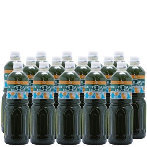 【業務用】 抹茶シロップ 1L ペットボトル×15本