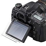 Protector de pantalla D780 Top+Protector de pantalla táctil para Nikon D780 D750 Cámara [2+2 paquetes], Fire Rock Ultra Clear 9H Dureza Cubierta de vidrio templado para Nikon d780
