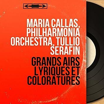 Grands airs lyriques et coloratures (Mono Version)
