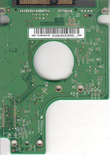 WD3200BEVT de 00zct0, 2061–701499de E00AD, WD SATA 2.5Escalera Placa (PCB)