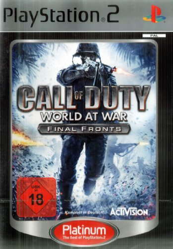 Call of Duty World at War - Final Fronts Platinum [Edizione : Germania]