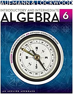 Student Solutions Manual for Aufmann/Lockwood's Introductory and Intermediate Algebra: An Applied Approach, 6th