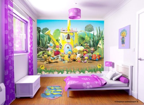 Walltastic Fifi and the Flowertots - Papel pintado (2,5 x 3 m), diseño Fifi