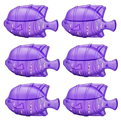 GuanQiao 6 Pack Humidifier Tank Cleaner Fish for Humidifier Water Treatment, Antimicrobial Cleaning Cartridge Cleans and Protects Humidifier Against Mold and Odor