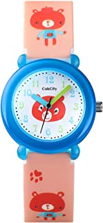 CakCity Kids Watch for Girls Boys Cute Cartoon Waterproof Silicone Children Wrist Watch Analog Watches for Toddler Little ...