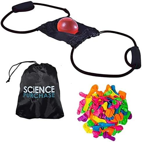 SciencePurchase Water Balloon High quality Launcher Launc Max 55% OFF 3 Person Slingshot