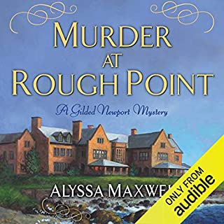Murder at Rough Point audiobook cover art