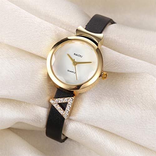 Janly - Reloj de pulsera para mujer con diseño moderno y moderno de cuarzo, ideal para el día de San Valentín