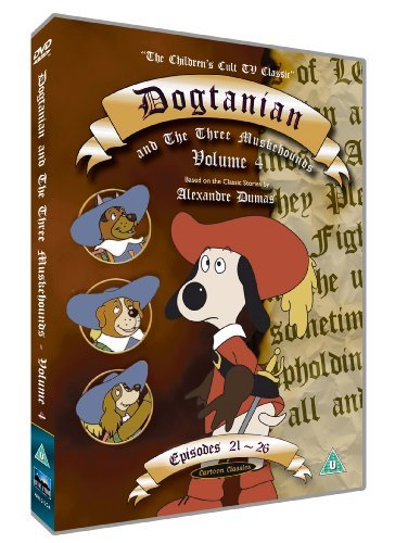 Dogtanian And The Three Muskehounds Vol.4 [DVD] [1991] [Reino Unido]