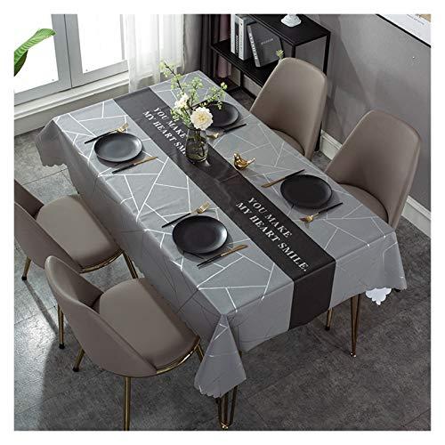 Mesa de mesa rectangular, agua de cumpleaños, boda, impermeable, para el relleno de la mesa de la mesa de la mesa, de cumpleaños, de boda, papel de mesa de café, resistente al agua