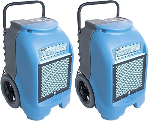 Best Price! Dri-Eaz F203-A 1200 18-gallon Compact Portable Refrigerant Dehumidifier (Pack of 2)