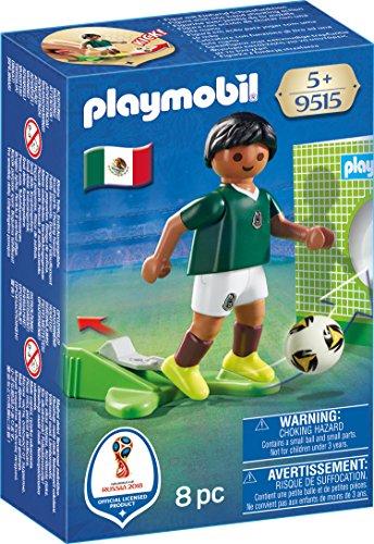 PLAYMOBIL-Jugador México Playset Figuras Juguete