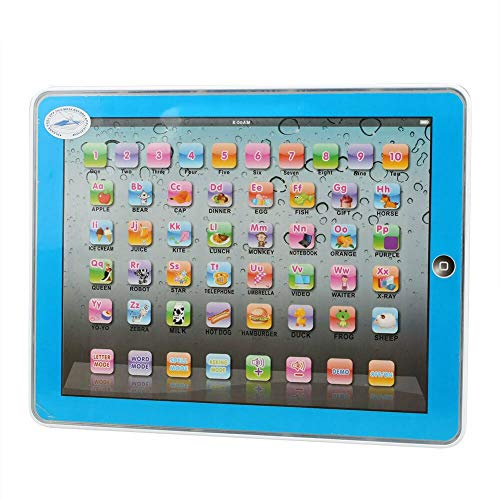 True Face Kids Y Pad English Computer Educational Learning Skill Tablet Children Toy Gift Blue
