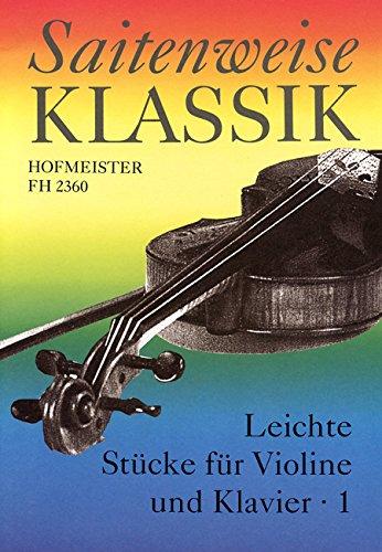 Saitenweise Klassik, Band 1 - Violine und Klavier - Buch