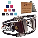 Smatiful Charge 3/4 Bands with Box Pack for Women, Adjustable Replacement Watch Band for Fitbit Charge 3/4 HR, Brown
