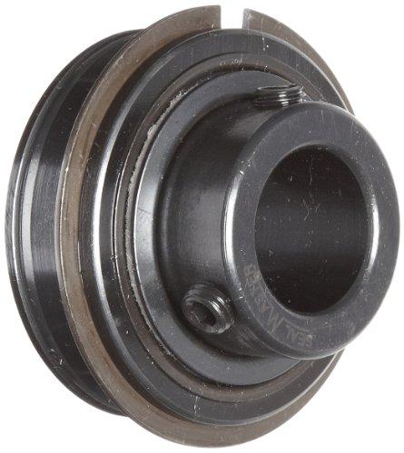 "Sealmaster ERX-16 XLO Wide Inner Ring Ball Bearing, Low Drag, Setscrew Locking Collar, X-Tra Lo Drag Felt Seals, Oil Lubrication, 1"" Bore, 52mm OD, 1-3/8"" Width"
