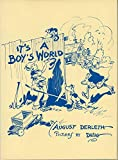 It's a boy's world;: Poems