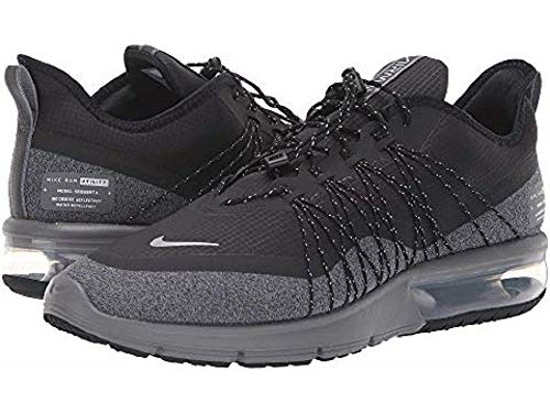 Nike Air Max Sequent 4 Utility Mens Style: AV3236-001 Size: 10 Black/Matte Silver