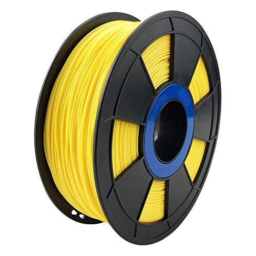 ZIRO 3D Printer Filament PLA PRO Basic Color Series 1.75MM 1KG(2.2lbs), Dimensional Accuracy +/- 0.05mm, Yellow