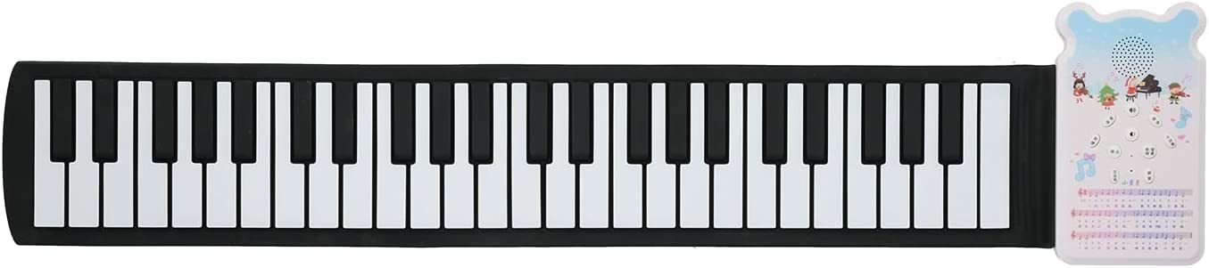 Superior GLOGLOW Portable Keyboard Piano low-pricing 49 Up Roll Keys