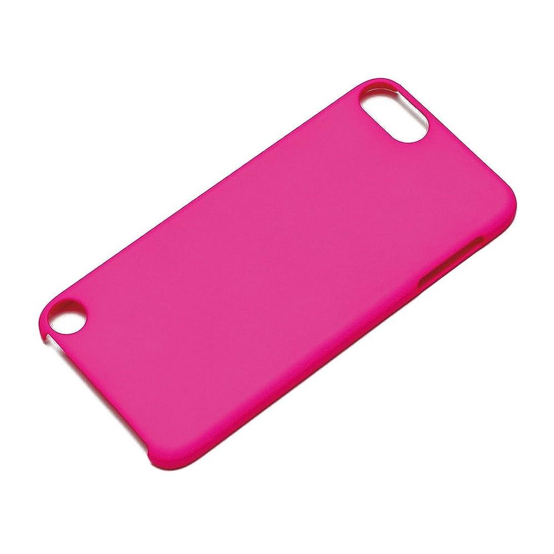 言い換えると接触パースブラックボロウiJacket iPod touch 第5世代 ポリカーボネイトケース 蛍光ピンク PG-IPTO5PC05KP
