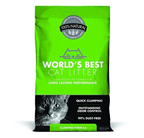 World's Best Cat Litter Clumping Formula, 14-Pound Bag