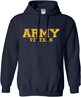 ZeroGravitee Army Veteran Gold Logo Hooded Sweatshirt