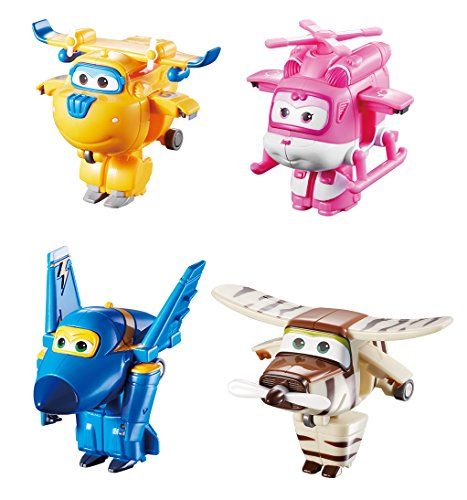 """5/"""" Sca... Helicopter Super Wings YW710240 Bot Transforming Dizzy Toy Figure"""