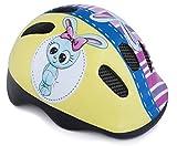 Casco di sicurezza per cicli, bicicletta e skateboard, per bambini e bambine, 44-48 cm, Bambino, police claper blue girl, Buny, 44-48 cm