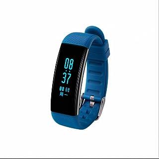 Pulsera Inteligente con Pulsómetro,Notificación de Mensaje SMS,Monitor de Actividad,Fitness Tracker,Pulseras Actividad con Pódometro,Bluetooth para IOS y Android