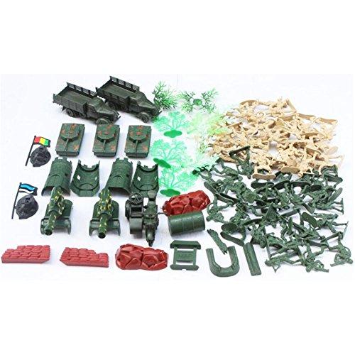 Souvenirs d'enfance Cadeaux Jouets Soldats Modèles Jouets Guns Modèles Camions Tracteurs Modèle militaire-88 PCS / 1: 36