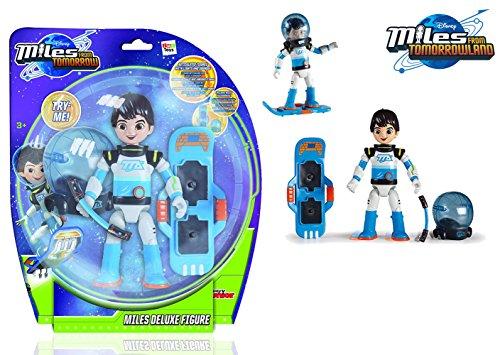 Miles von Morgen 481022ML Disney Junior 481022ML-Spielzeugfigur, Deluxe Figur, blau