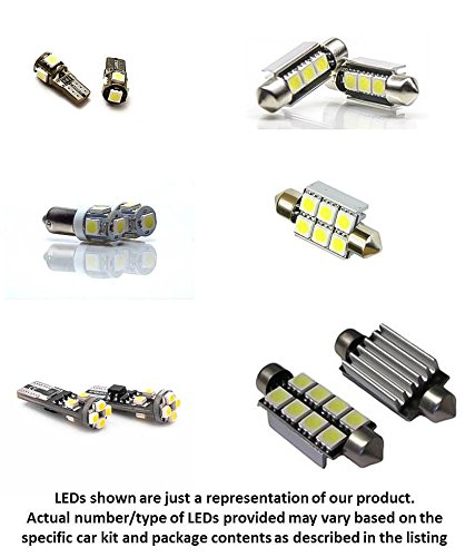 BLAST LED 14pc LED Lights Interior Package Kit for BMW 3 Series E90 325i 328i 330i - Error Free