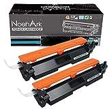 NoahArk Compatible con HP CF294A 94A CF294X 94X El Cartucho de tóner Funciona con la Impresora multifunción HP Laserjet Pro M148dw MFP M148fdw M148fw M149fdw, Alto Rendimiento (2 Negro,con Chip)